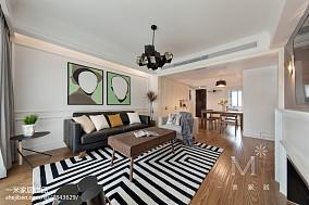 精美107平米三居客厅北欧装饰图家装装修案例效果图