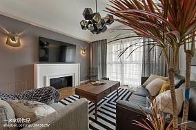 热门101平米三居客厅北欧效果图三居北欧极简家装装修案例效果图