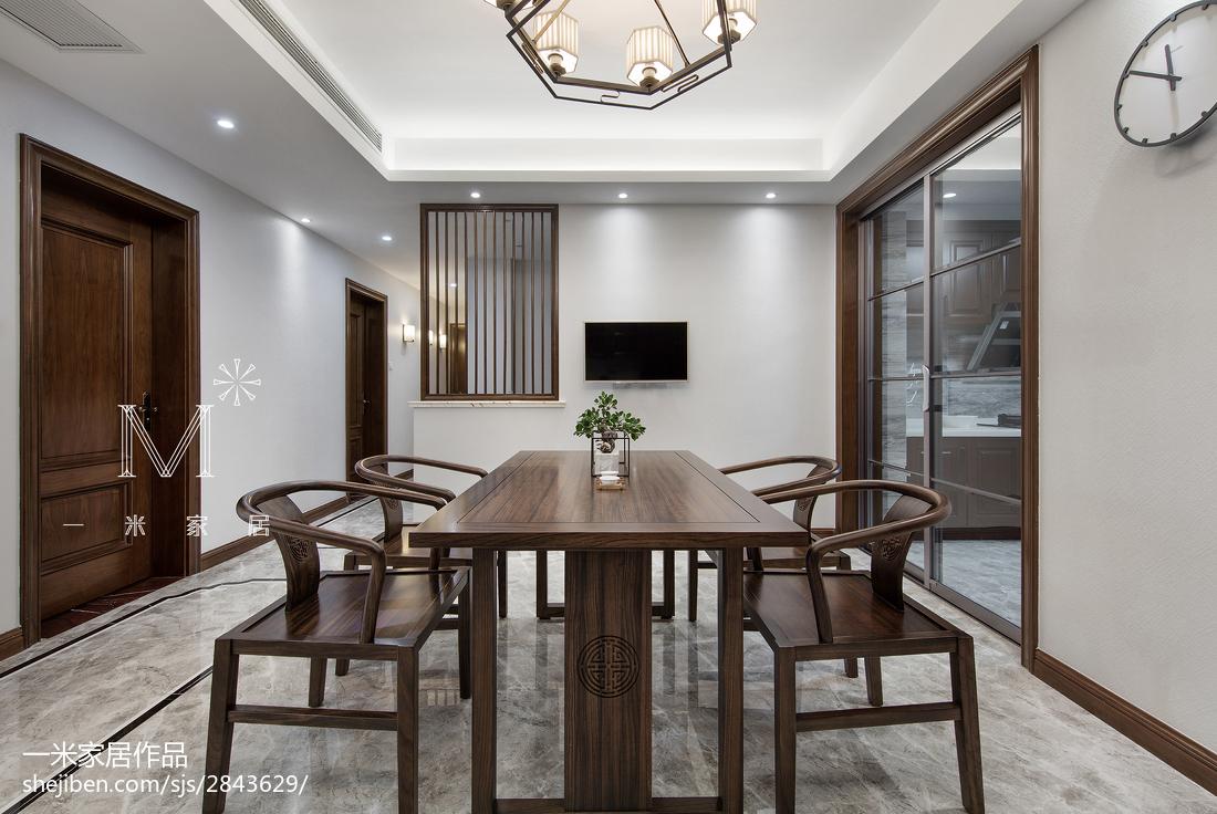 165m²新中式餐厅设计图厨房2图中式现代餐厅设计图片赏析