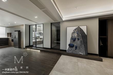 精美133平米四居客厅现代设计效果图