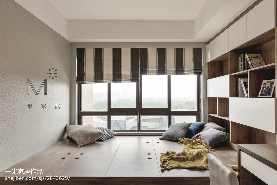 精美112平现代四居休闲区装修设计图功能区现代简约功能区设计图片赏析