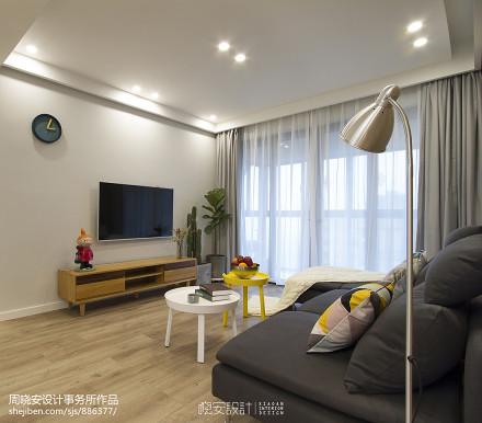 201988平北欧二居客厅装饰美图