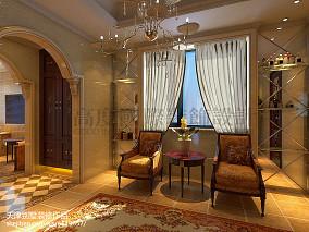 精选130平米欧式别墅休闲区效果图片
