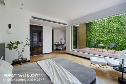 温馨799平混搭别墅卧室设计图卧室