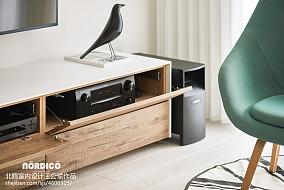 典雅123平北欧四居客厅实景图片四居及以上北欧极简家装装修案例效果图