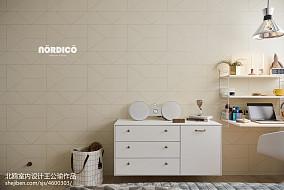 精致115平北欧四居卧室装修效果图四居及以上北欧极简家装装修案例效果图