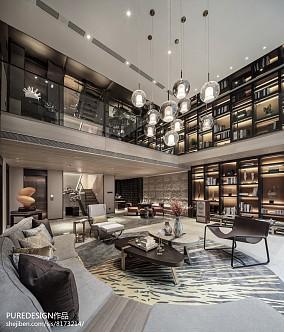 精美746平中式别墅装修设计图别墅豪宅中式现代家装装修案例效果图