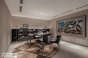 简洁444平中式别墅实景图片别墅豪宅中式现代家装装修案例效果图