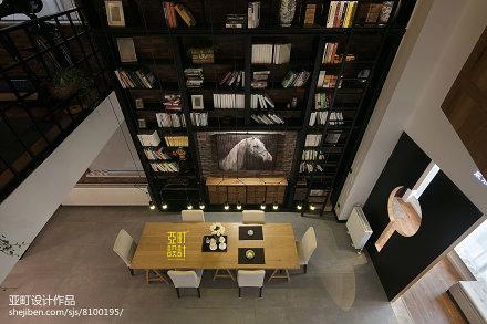 优雅80平现代复式餐厅设计美图
