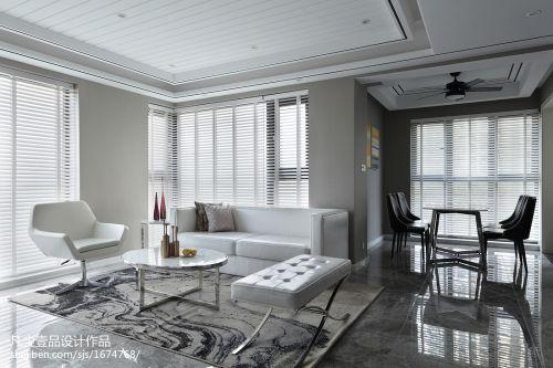 三居现代客厅餐厅一体设计图客厅沙发
