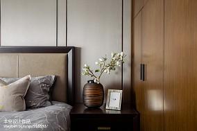 轻奢80平中式二居设计图二居中式现代家装装修案例效果图