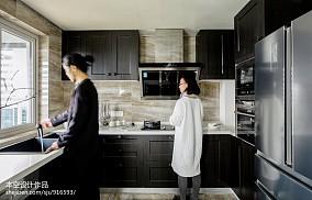 华丽78平中式二居装饰图片二居中式现代家装装修案例效果图