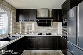 简洁76平中式二居布置图二居中式现代家装装修案例效果图