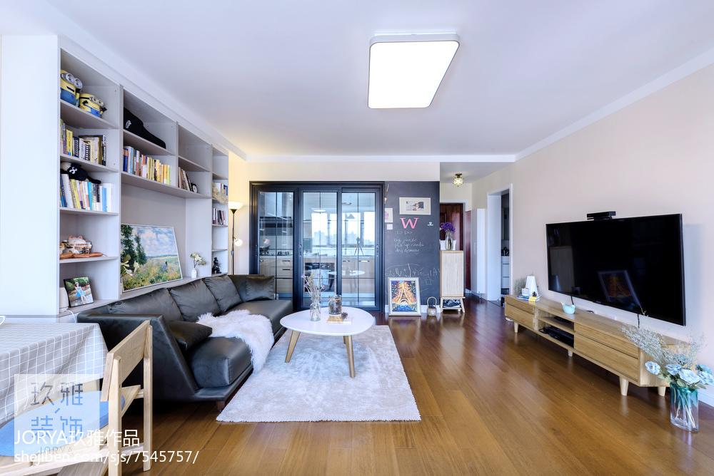现代二居小客厅设计图客厅2图现代简约客厅设计图片赏析