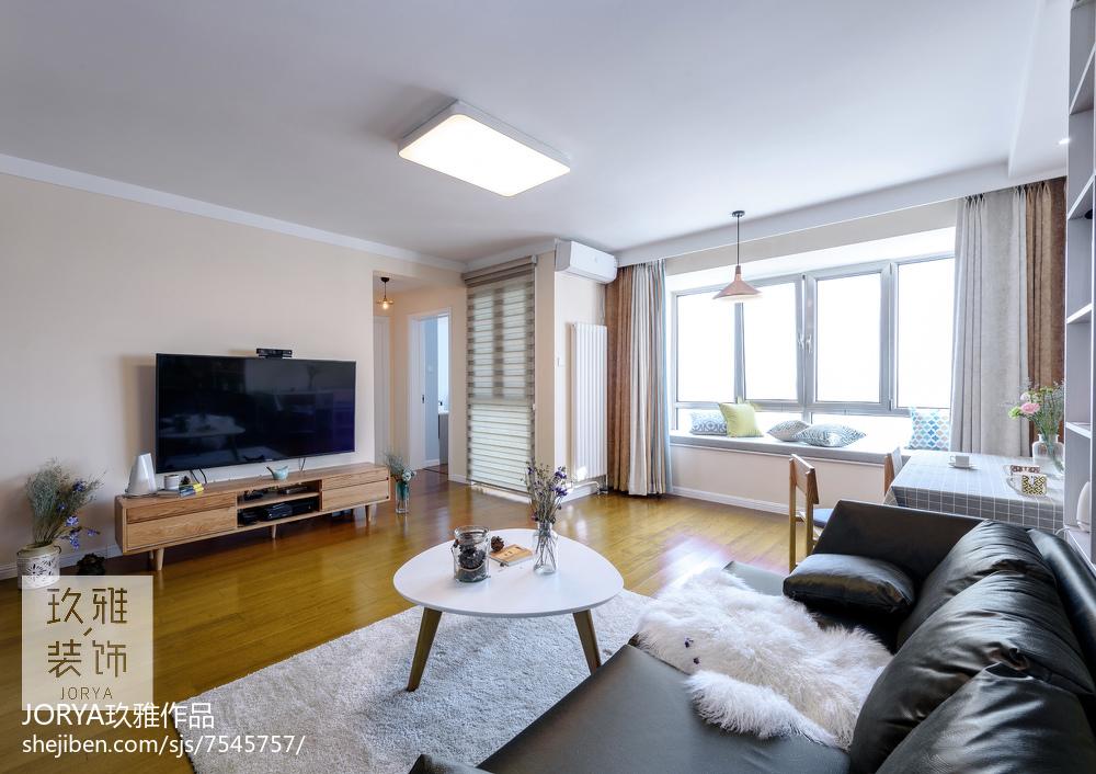 现代二居小客厅设计图片客厅1图现代简约客厅设计图片赏析