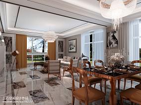 热门97平米三居客厅简欧装修效果图