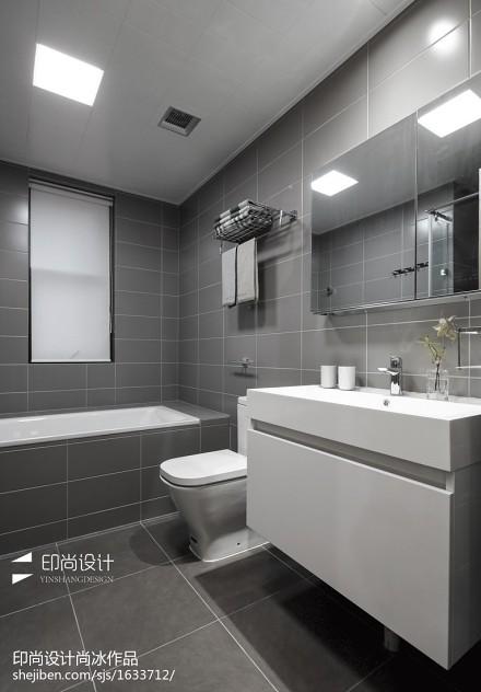 精选四居卫生间日式装修图片欣赏卫生间