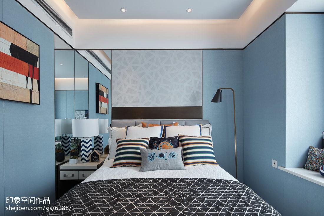 2018精选儿童房中式装修图片大全卧室中式现代卧室设计图片赏析