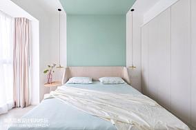 平混搭二居卧室效果图片大全二居潮流混搭家装装修案例效果图
