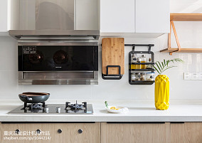 悠雅71平混搭二居厨房装饰图二居潮流混搭家装装修案例效果图