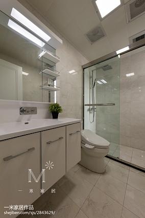 精美103平米三居卫生间现代效果图片欣赏