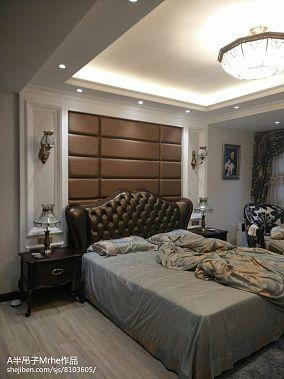 豪华欧式房子卧室装修风格