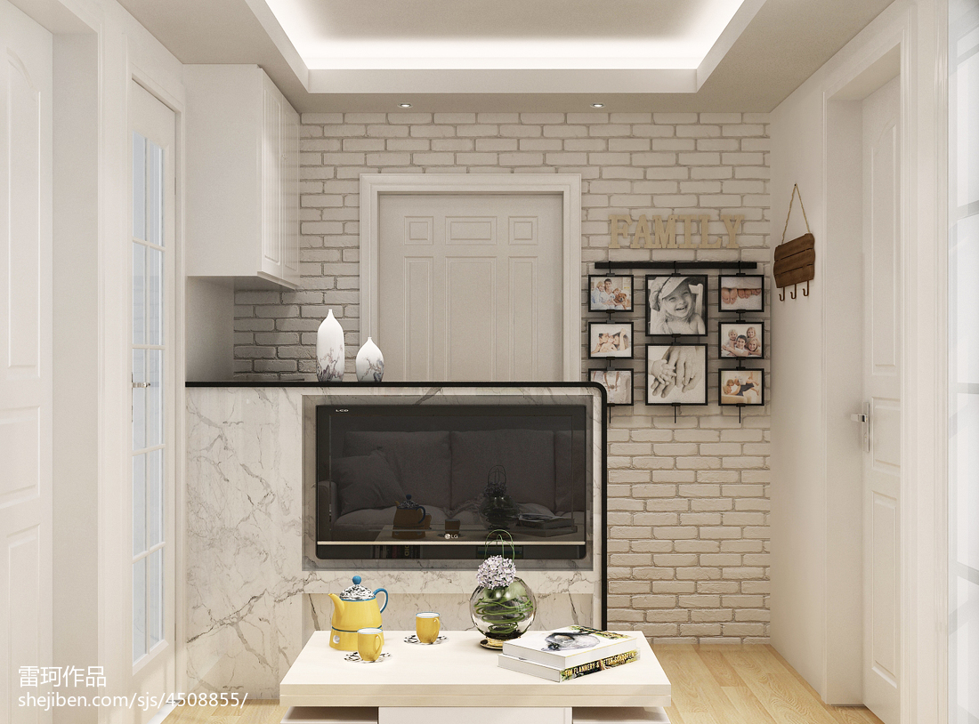 客厅玄关造型效果图客厅现代简约客厅设计图片赏析