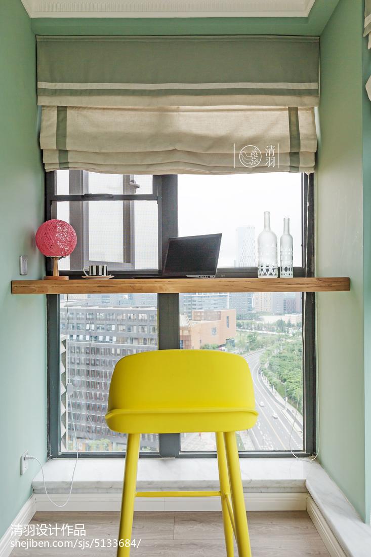 典雅95平混搭三居阳台案例图阳台潮流混搭阳台设计图片赏析