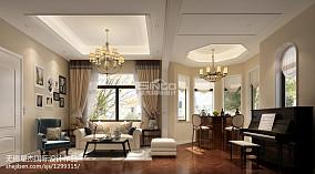 81平米欧式公寓休闲区装修欣赏图
