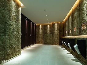 中式书房博古架装修效果图片欣赏