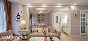 2018精选面积95平美式三居餐厅装饰图片大全101-120m²三居美式经典家装装修案例效果图
