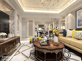 精美欧式客厅效果图