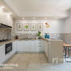 2018精选别墅厨房混搭装修设计效果图片欣赏
