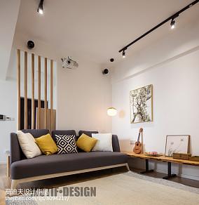 精选103平米三居客厅北欧效果图片欣赏