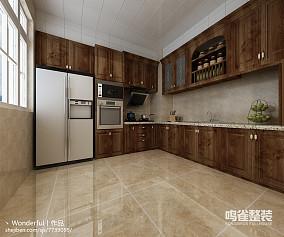 原木宜家整体厨房