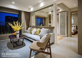 小户型北欧风客厅沙发设计图
