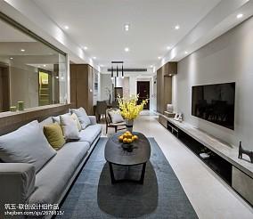 小户型北欧风客厅沙发设计