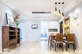 2018大小97平北欧三居餐厅装修图片欣赏厨房2图北欧极简设计图片赏析