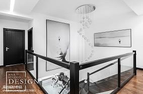 精美面积139平别墅过道现代装修效果图片欣赏