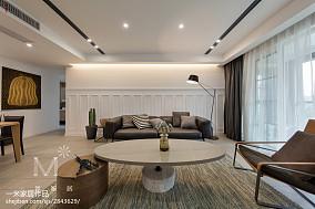 悠雅190平现代三居客厅装修效果图