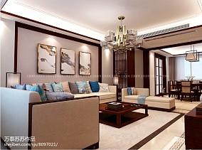 现代摩登风格公寓效果图