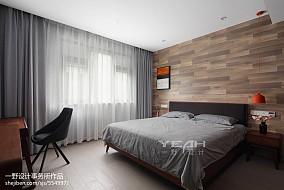 复式卧室简约装修图