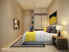 2018精选面积132平复式卧室简约装修欣赏图片大全