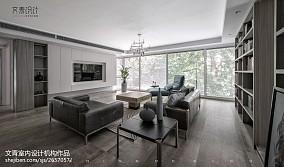 现代简约大宅客厅设计图