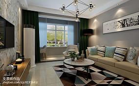 一居客厅新古典装修欣赏图