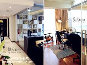 100平米三居书房现代装修效果图片