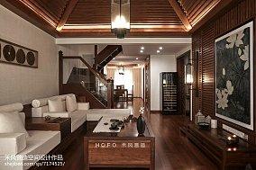 精美131平米东南亚复式客厅装修效果图片大全