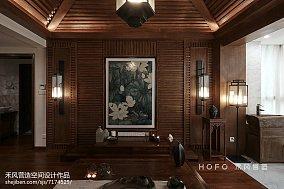 热门面积125平复式客厅东南亚装修图片