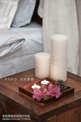 精美复式卧室东南亚装饰图片