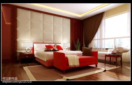 精美别墅客厅中式装修效果图片客厅2图